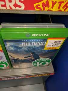 FINAL FANTASY XV ONLY £10 AT SMYTH'S instore Newry