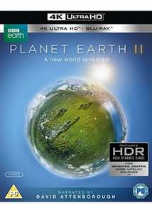 Planet Earth II (4k UHD Blu-ray + Blu-ray) £19.99 @ BASE