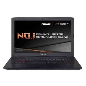 ASUS ROG GL552VW-DM195T 15.6 inch FHD Gaming Laptop (Intel i5-6300HQ, 8 GB DDR4 RAM, 128 GB SSD + 1 TB, Nvidia GTX960M 2 GB GDDR5, Windows 10, Includes Gaming Backpack, Headset, Mouse) £689.97 @ Amazon