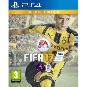 Fifa 17 Deluxe Edition PS4 £14.99 @ Sainsbury's