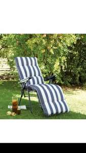 Colorado fabric sun lounger £23 @ B&Q