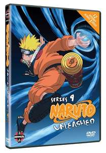 Naruto Unleashed - Series 9 - The Final Episodes [DVD] [2002] £3.88 (Prime) @ Amazon
