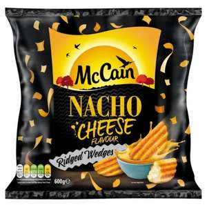 McCain Nacho Cheese Ridged Wedges 600g/McCain Smoky Paprika Ridged Wedges 600g  Morrisons [Instore/Online] Purley Way