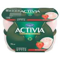 pack of 4 x Activia Intensely Creamy Yogurts 65p @ Heron Foods