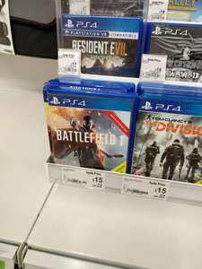 Battlefield 1 PS4 £15 - ASDA