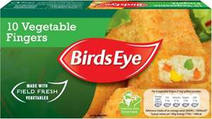 Birds Eye Vegetable Fingers (10 = 284g) was £1.00 now 2 packs for £1.50 @ Iceland