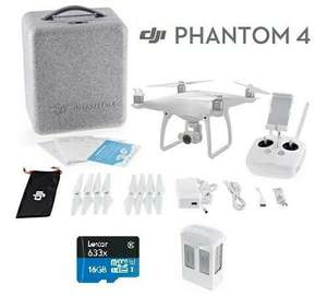 DJI Phantom 4 RTF Kit £737.99 with code @ eglobal central