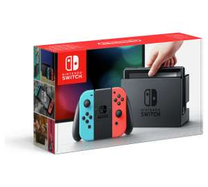 Nintendo Switch Neon / Grey + Cars 3 £299.99 @ Argos