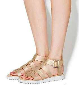 Office Brody Gladiator Sandals Nude (was £38.00) now £18 (free C&C)