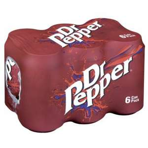 Dr Pepper 6x330ml cans 89p @Tesco