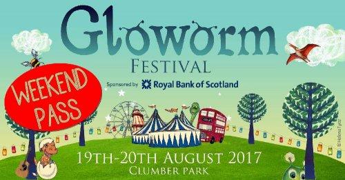 Gloworm  Festival family weekend ticket half price Peak FM - £68.75