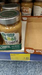 Whole Earth Peanut Butter @ B&M Bargains for £1.89