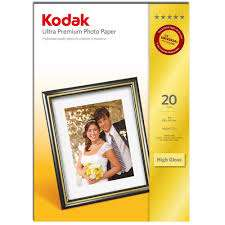 Kodak A4 GSM240g photo paper (20sheets) 80p @ Asda