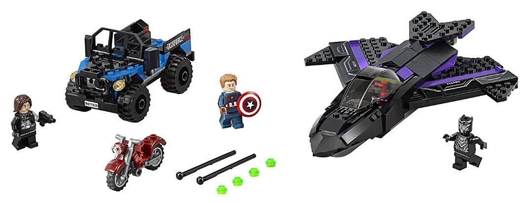 Lego set 76047 Marvel Black Panther Pursuit £20.99 with free del. Until 7.59am Mon 17th @ Disney