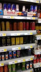 £1.89 Redbull Part of the £3 Meal Deal @ Tesco