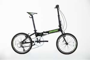 Greenway 8 speed aluminium folding bike £213.99 @ Greenway Cycles