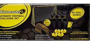 Kickmaster Ultimate football challenge set £20 (29.99 in Argos)  (1.99 c+c but free if spend  £30+)