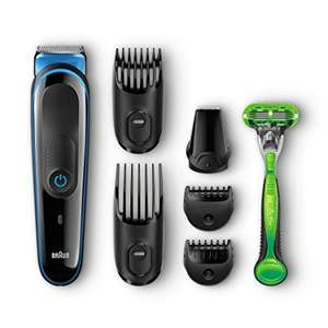 Braun Multi Grooming Kit MGK3040 (7-in-1 Beard/Hair Trimmer for Men Plus Gillette Body Razor) ENDS MIDNIGHT SATURDAY £19.99 @ Amazon