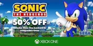 50% off Sonic titles (must have Gold account) - Xbox Store