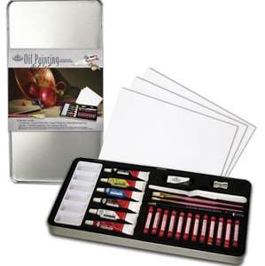 Oil painting art set in tin Royal and Langnickel add on Amazon £2.62