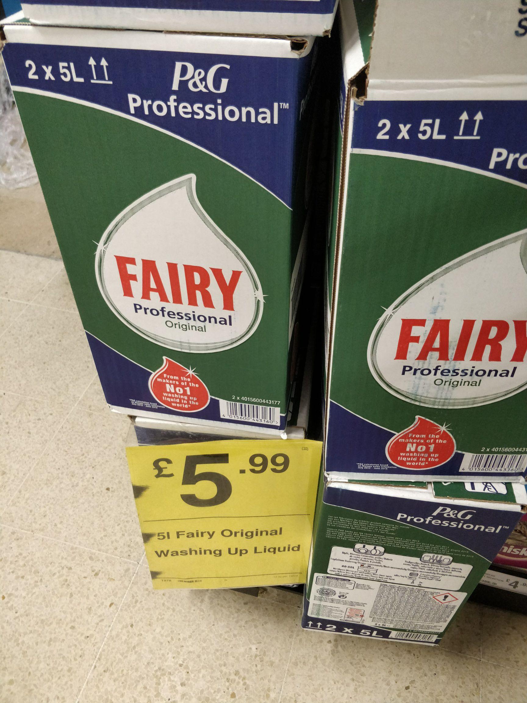 Fairy Original 5L £5.99 instore @ FarmFoods
