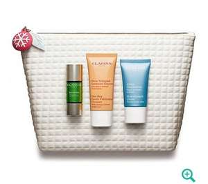 Clarins 'Well-Being Collection- Party Season Booster' gift set was £30 now £15 Del with code @ Debenhams