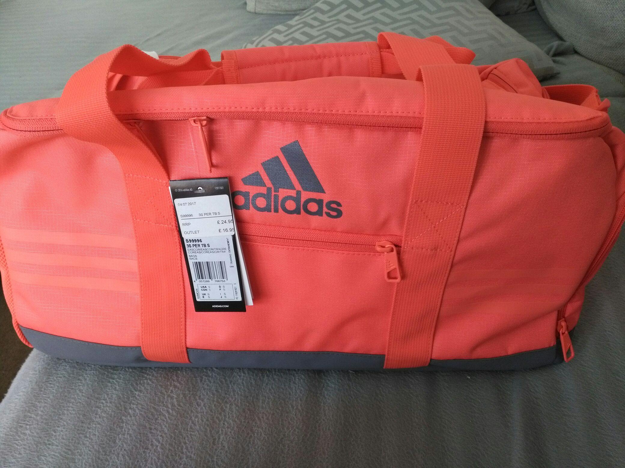 Adidas medium size handbag £16.95 adidas outlet in ashford