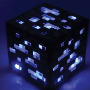 Minecraft Light-Up Diamond Ore £5.81 Prime / £9.80 Non Prime @ Amazon