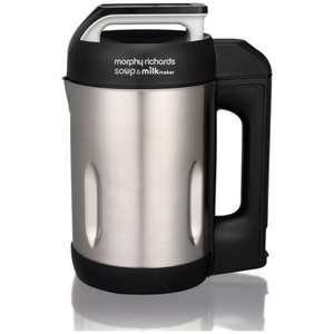 Morphy Richards 50100SM soup and milk maker from The Hut for £39.99 delivered