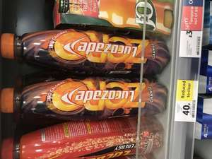 Lucozade Orange Zero 1l 40p @ Tesco Metro (Bromley South)