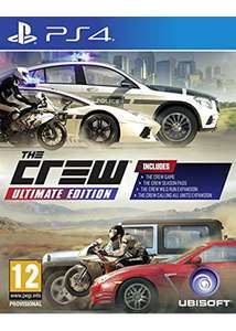 The Crew Ultimate Edition ps4 £13.85 @ Base.com