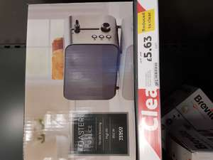Stainless steel toaster £5.63 @ Tesco in stores