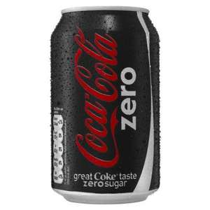 24 x 330ml Coke Zero Cans £5.00 @ Tesco Lime Trees