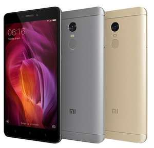 Global 4GB 64GB Xiaomi Redmi Note Gold (Band 20) £133.00 @ AliExpress/XiaomiMCstore