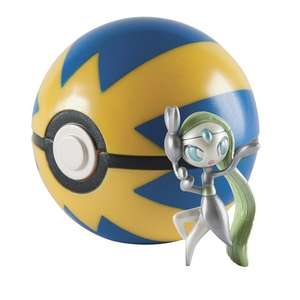 Pokémon 20th Anniversary Meloetta Figure with Quick Ball £5 @ Smyths