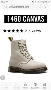 Doc Martens Bone Coloured 8 eye. £35 @ Dr Martens (£3.95 del under £50)