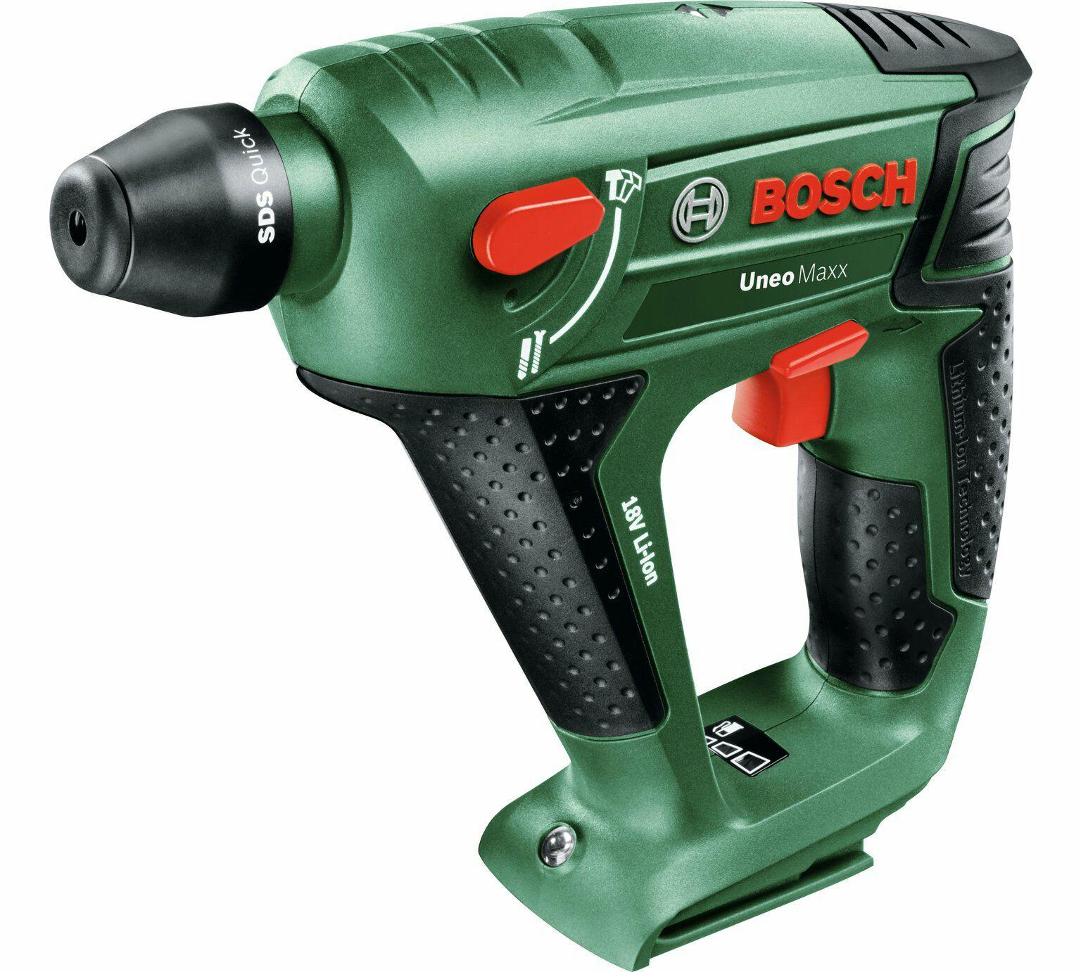 Bosch Uneo Maxx Cordless Bare Hammer Drill - No Battery - £43.22 @ Argos