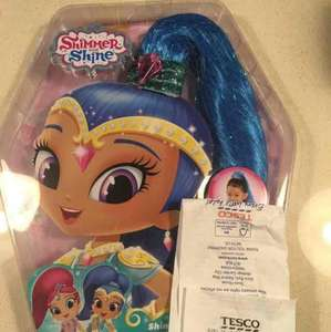 shimmer and shine hair piece 50p at Tesco instore