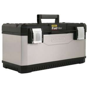 Stanley 195617 Metal Plastic Toolbox 26-inch - Amazon - £11 (Prime exclusive)