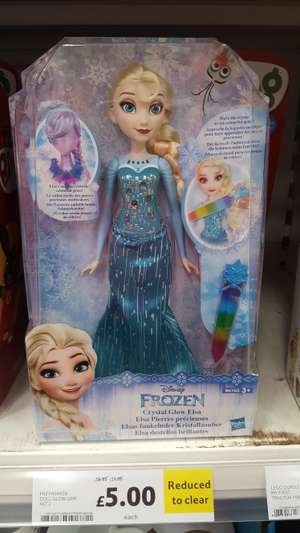 Frozen dolls £5 instore @ Tesco