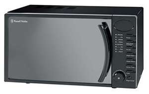 Russell Hobbs RHM1714B 17L Digital 700w Solo Microwave Black - was £64.99 now £39 @ Amazon