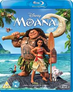 Moana blu-ray £10 on Amazon Prime or £11.99 non prime