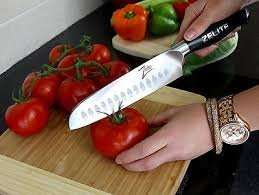 ZELITE INFINITY Santoku Knife [lightning deal] £37.37 Sold by Zelite-Infinity and Fulfilled by Amazon
