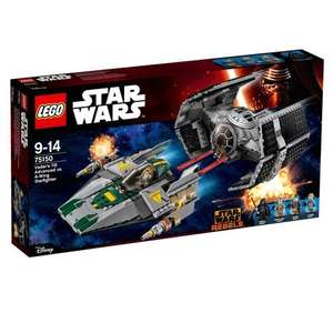 In-Store LEGO Star Wars Rebels Vader's TIE Advanced vs. A-Wing Starfighter 75150 - Smyths - £40