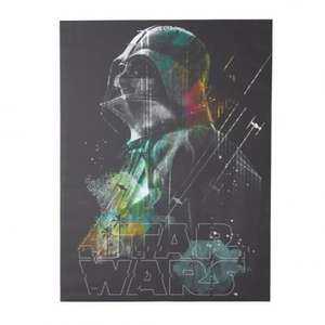 Darth Vader Canvas Print - £2 instore @ B&Q Dundee