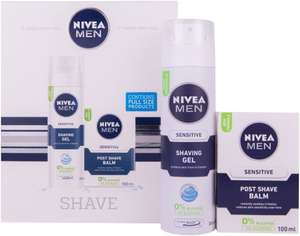 Nivea Men Shave Gift Set for Men, 2 Pieces - £3.99 @ Amazon (Add on item)