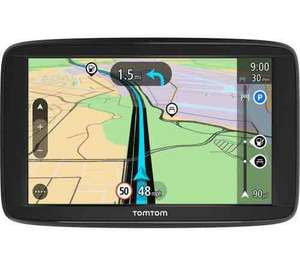 "GREAT DEAL - TOMTOM Start 62 6"" Sat Nav - with UK, ROI & *Full Europe Maps* & 2 Years Guarantee- £119.99 @ Currys"