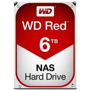 WD Red 6tb NAS HD. - £140.01 @ ebuyer