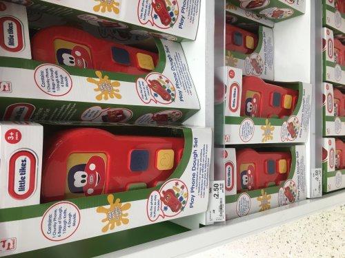 Little Tikes Play Phone Dough Set was £10 now £2.50 @ ASDA