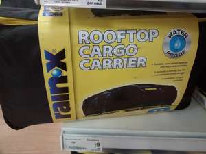 Rainx rooftop cargo carrier was £30 now £9 @ Asda living (Leeds)
